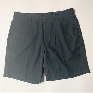 Brooks Brothers Golf Shorts Black St Andrews Links